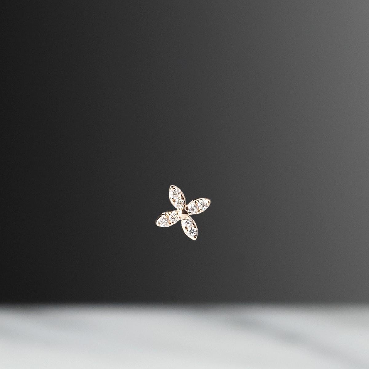 fleur-or-rose-diamant