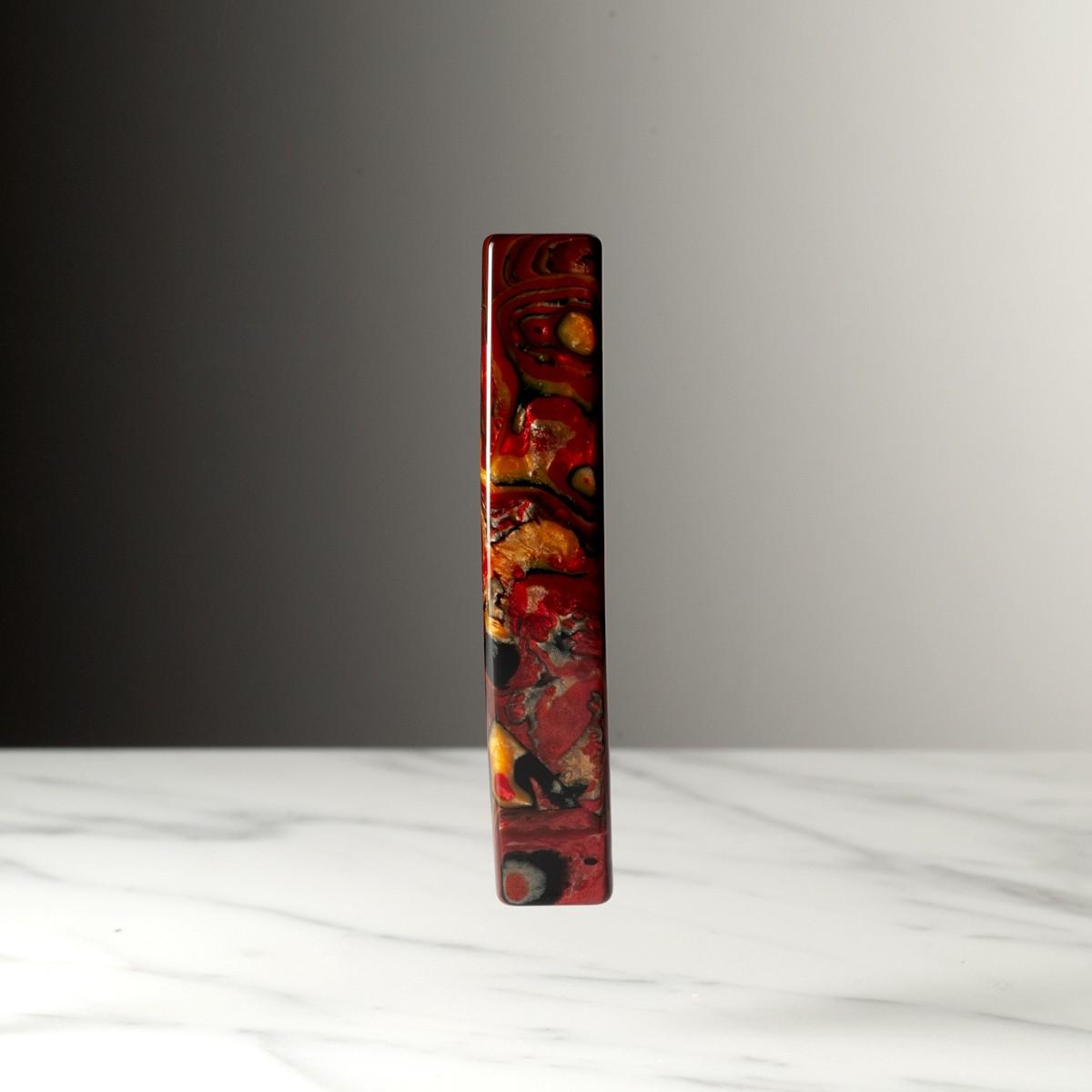 baguette-petit-modele-marbre-rouge