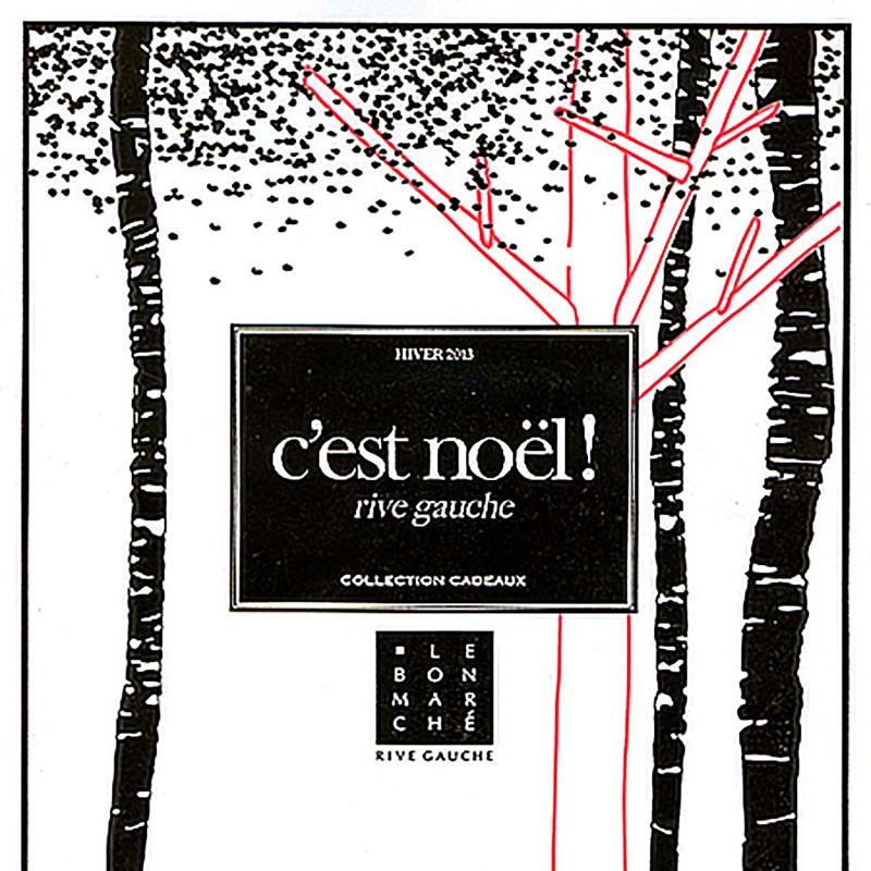 LE BON MARCHE MAGAZINE C'EST NOEL HIVER 2013