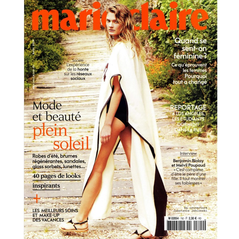 MARIE CLAIRE FRANCE AOUT 2018